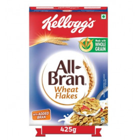 Kelloggs All Bran Wheat Flakes Made With Whole Grain 425 g