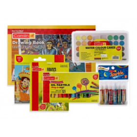 Camlin Painting Kit Combo Multicolor