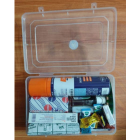 First Aid Box Kit Pack Of 12 Items Set
