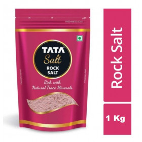 Tata Rock Salt With Natural Trace Minerals 1 Kg Pouch
