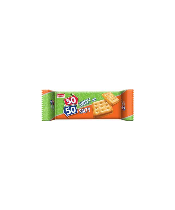 Britannia 50-50 Sweety Salty Biscuit 80 gm