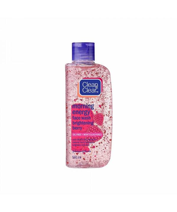 Clean & Clear Morning Energy Brightening Berry Face Wash 50 ml