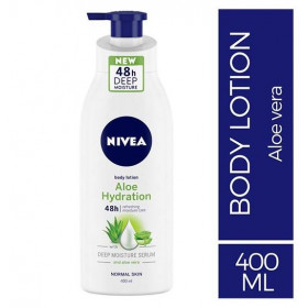 Nivea Body Lotion Aloe Hydration For Normal Skin 400 ml