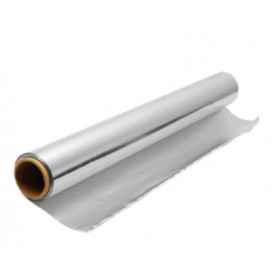 Silver Aluminium Foil Roll for Food Wrapping 72 metre