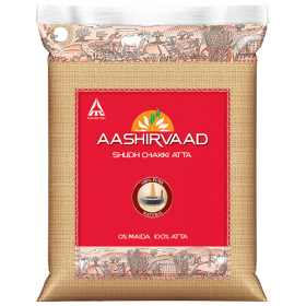 Aashirvaad Atta Whole Wheat 5kg