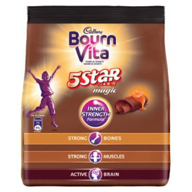 Bournvita 5 Star Magic Chocolate Health Drink 500 g Pouch