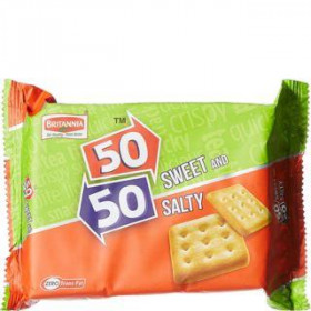 Britannia 50-50 Sweety And Salty Biscuit 150 gm