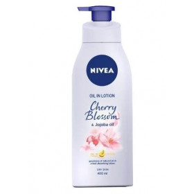 Nivea Oil in Lotion Cherry Blossom & Jojoba Oil 400 ml