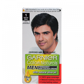 Garnier Color Naturals 1 Natural Black Men Hair Color 60 ml