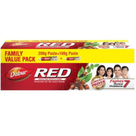Dabur Red Toothpaste Family Pack 300 g