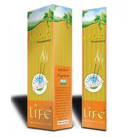 Darshan Life Patchouli Fragrance Incense Sticks Agarbatti 90 g (Pack Of 6) Wholesale Pack