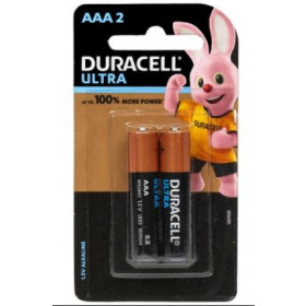 Duracell 1.5 V AAA Ultra Battery 2 pcs
