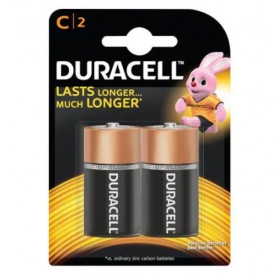 Duracell Ultra Alkaline C Battery 2 pcs