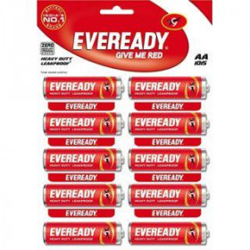 Eveready Heavy Duty AA 1015 Battery 1.5 V 10 Pc