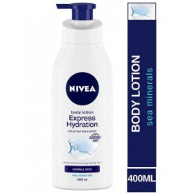 Nivea Body Lotion Express Hydration For Normal Skin 400 ml
