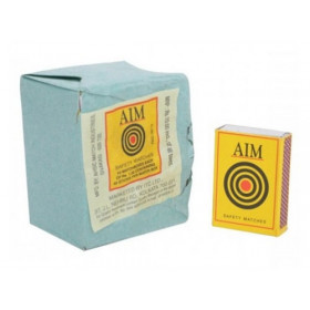 Aim Safety Match Box Homelites Pack of 10