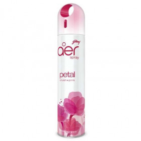 Godrej Aer Spray Petal Crush Pink Air Freshener 300 ml