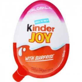Kinder Joy For Girls Chocolate 20g
