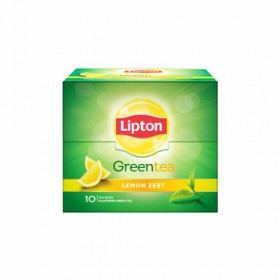 Lipton Lemon Zest Green Tea 10 pcs