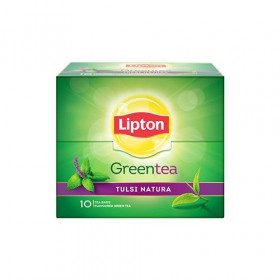 Lipton Tulsi Natura Green Tea 10pcs