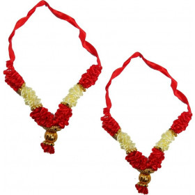 Pooja mala 8 Inch Set Of 2pcs