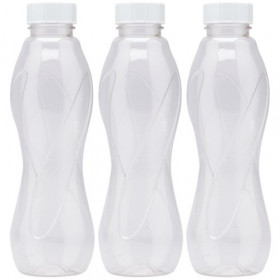 Milton Water Pet 1 Litre Capicity Bottle Set of 4 Pcs Multicolor