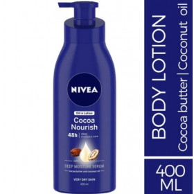 Nivea Body Lotion Oil in Lotion Cocoa Nourish For Very Dry Skin 400 ml