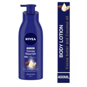 Nivea Cocoa Nourish Body Lotion 400 ml