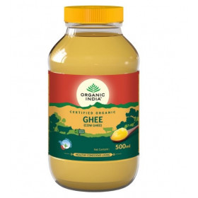 Organic India Cow Ghee 500 ml Bottle