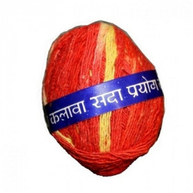 Pooja Kalawa / Mouli Cotton Thread Red 20g
