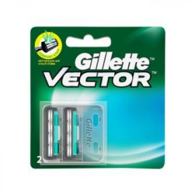 Gillette Vector Razor Cartridge 2pcs