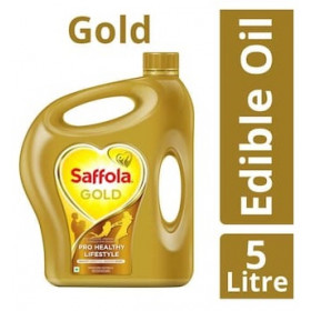 Safolla Gold Pro Healthy Lifestyle Refined Oil 5l