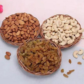 Trio Dry Fruits Basket