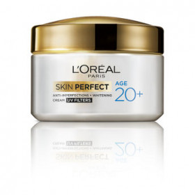 LOreal Paris Skin Perfect Anti-Imperfections+Whitening Cream for 20+ 50 gm