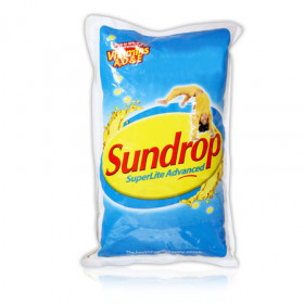 Sundrop Superlite Advanced Sunflower Refined Oil-1ltr