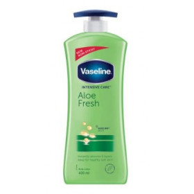 Vaseline Intensive Care Aloe Fresh Body Lotion 400 ml
