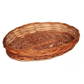 Wooden Basket / Fruits Basket For Gifts Oval Shape Small Size 1 Pc