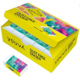 Youva Navneet Eraser Medium Dust Free Last Long Pack Of 5